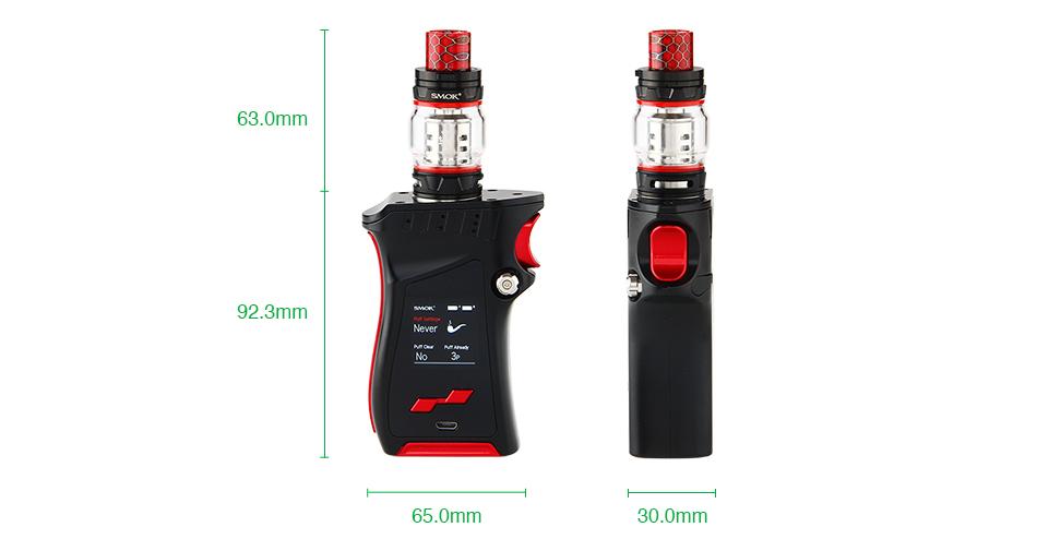 Kit Mag 225W c/ Atomizador TFV12 Prince – Smok™