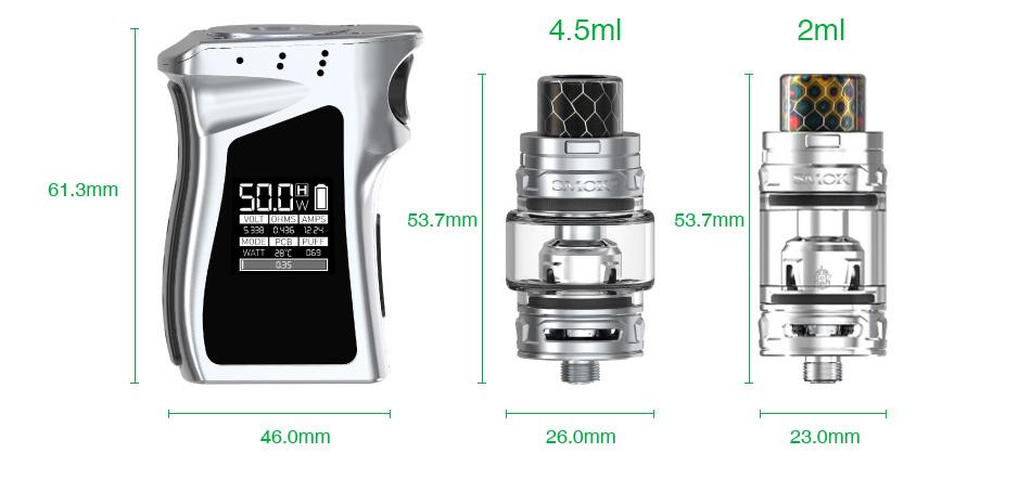 Kit Mag Baby 50W c/ Atomizador TFV12 Baby Prince – Smok™