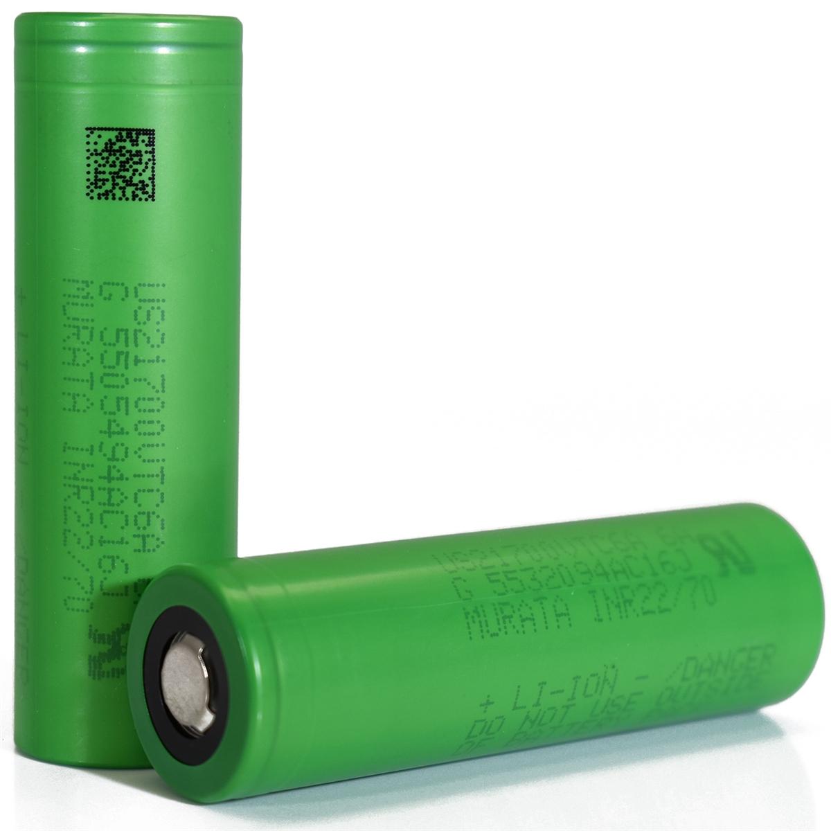 Bateria Murata VTC6A 21700 4000mAh 30A - Sony