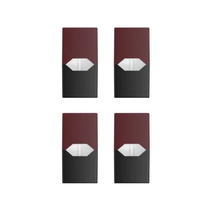 POD (cartucho) c/ Líquidos - VIRGINIA TOBACCO - SaltNic - JUUL LABS