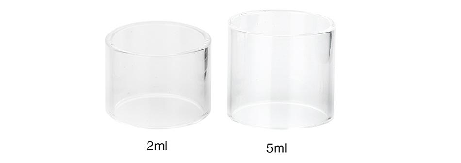 Tubo de vidro p/ Atomizador NRG (Reposição) 2ml/5ml - Vaporesso