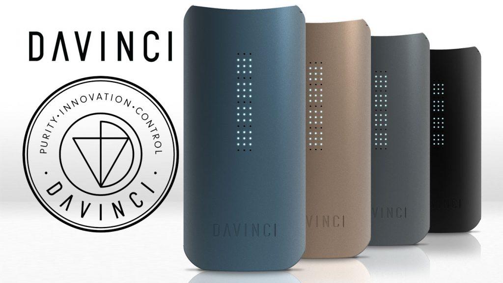 Vaporizador de Ervas IQ - DAVINCI™