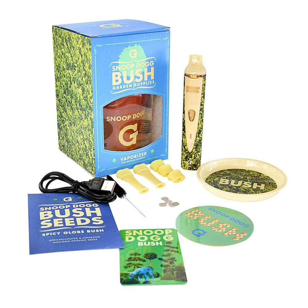 Vaporizador de Ervas Snoop Dogg  G Pro Bush™ – Grenco Science