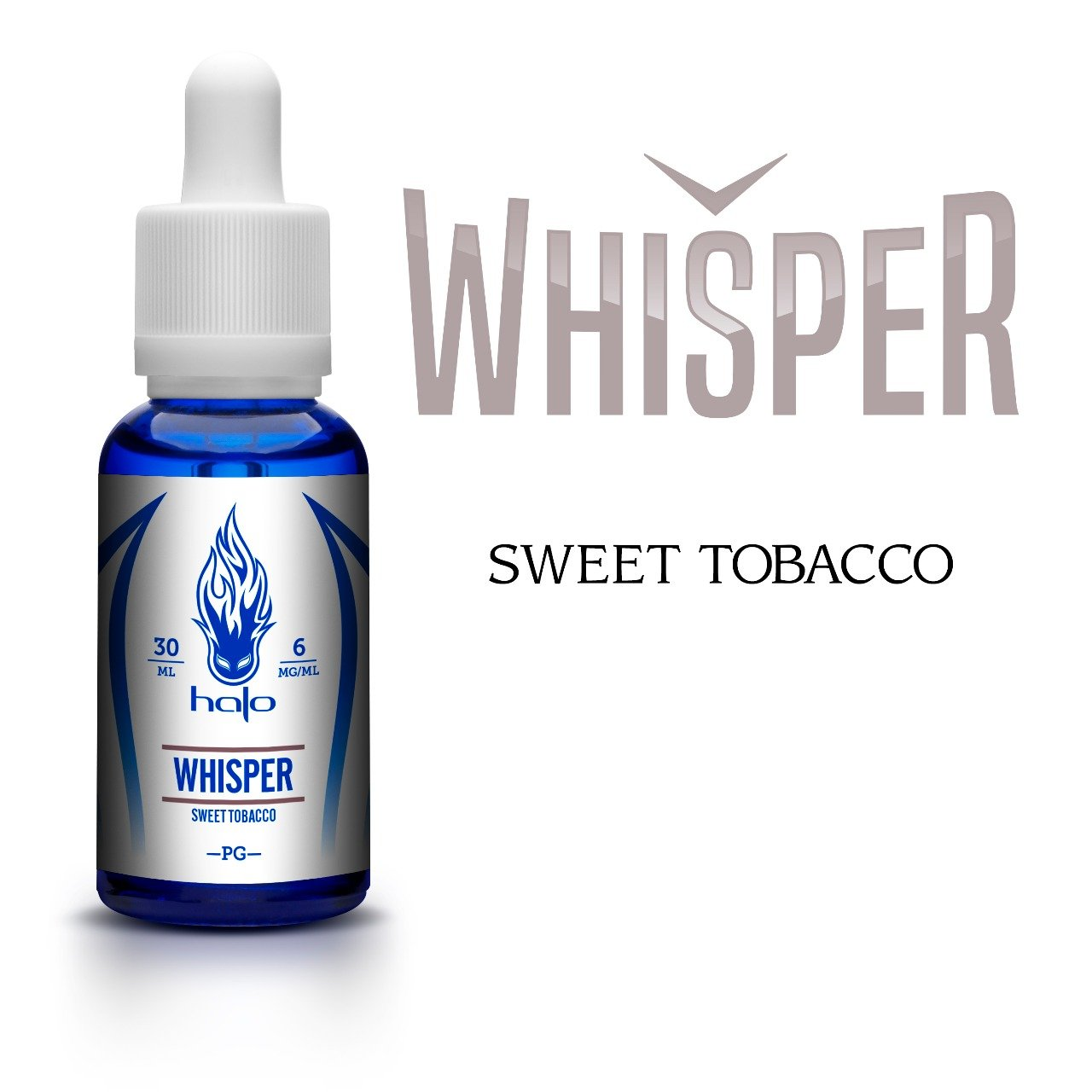 Líquido Whisper - White Series - Halo Cigs