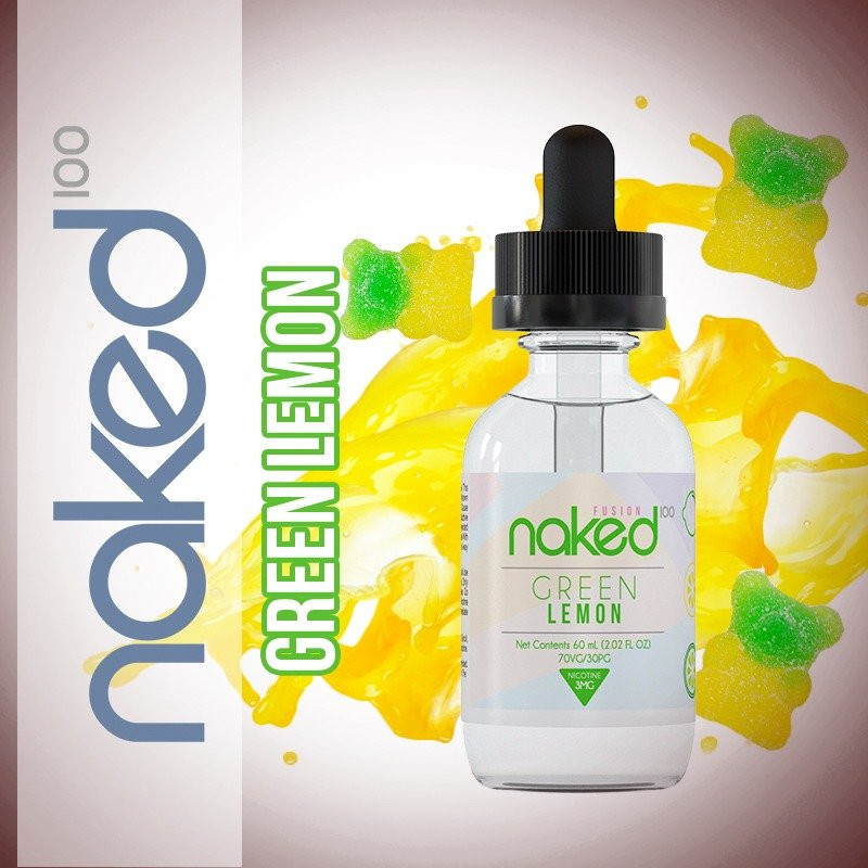Líquido Green Lemon - Sour Sweet - Naked 100
