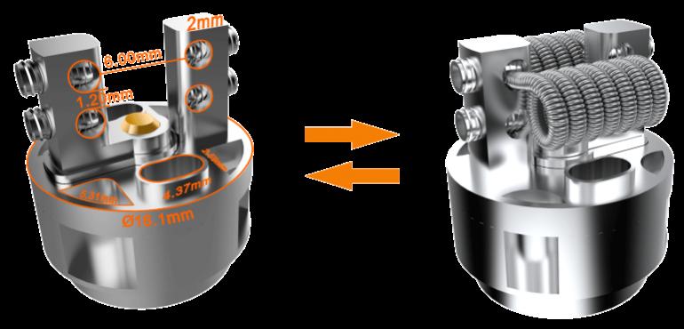 Atomizador Griffin RTA 3.5mL - GeekVape