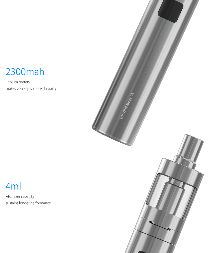 Kit eGo ONE MEGA V2 - 2200 mAh - Joyetech™
