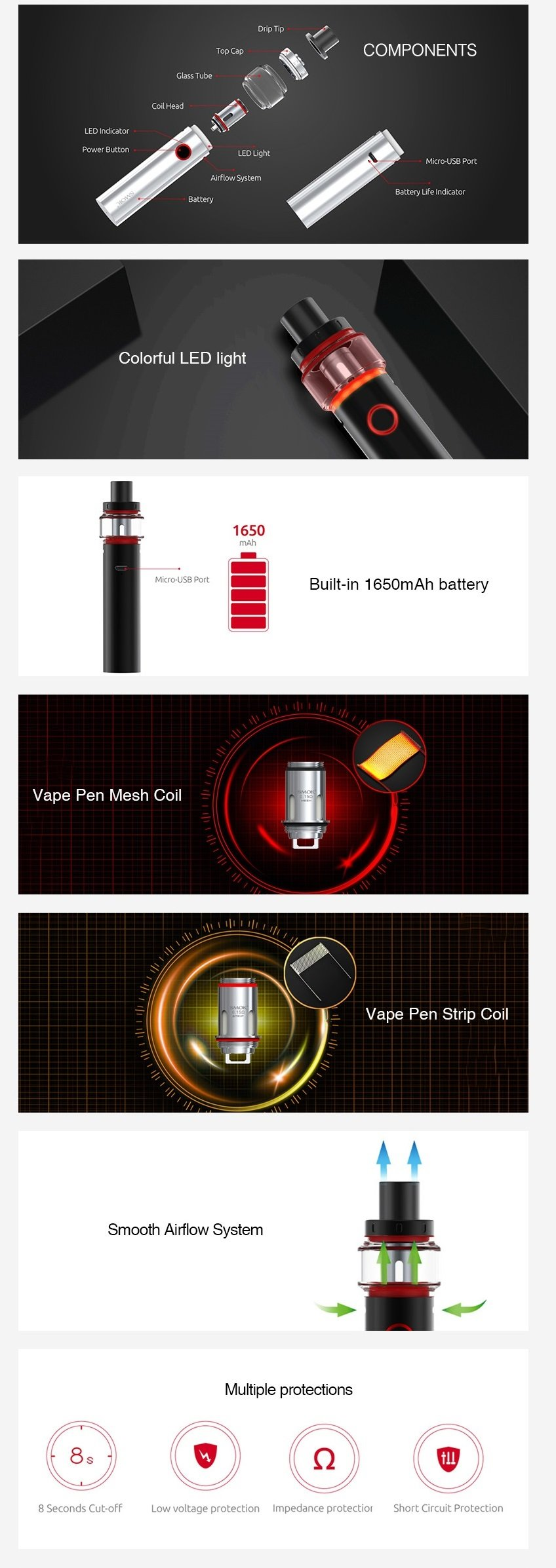 Kit Vape Pen 22 Light Edition - Smok™