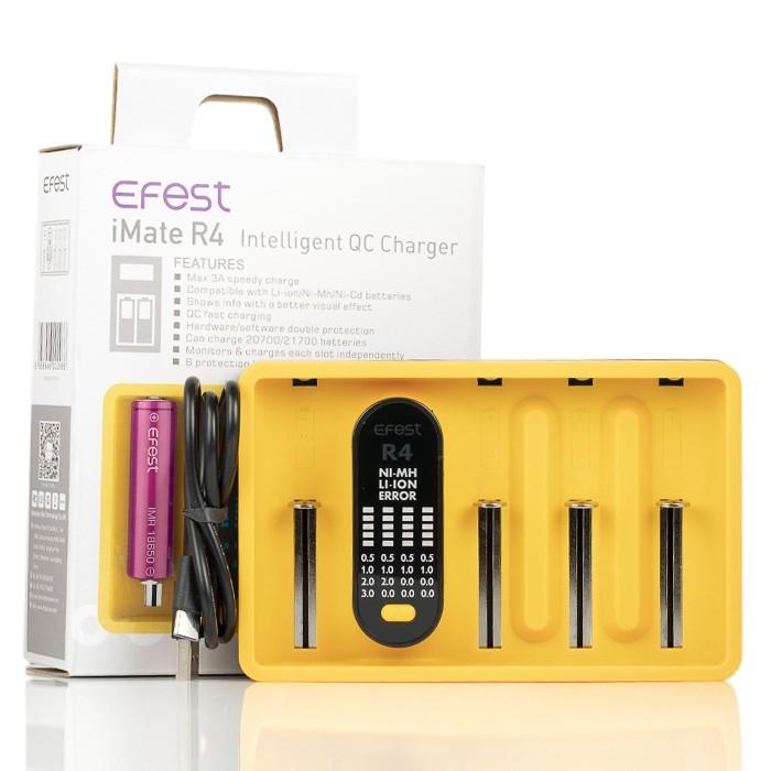 Carregador iMate R4 QC Charger - EFEST