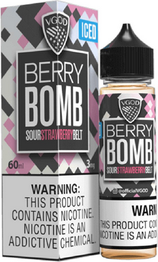 Líquido Berry Bomb Iced - Caravela