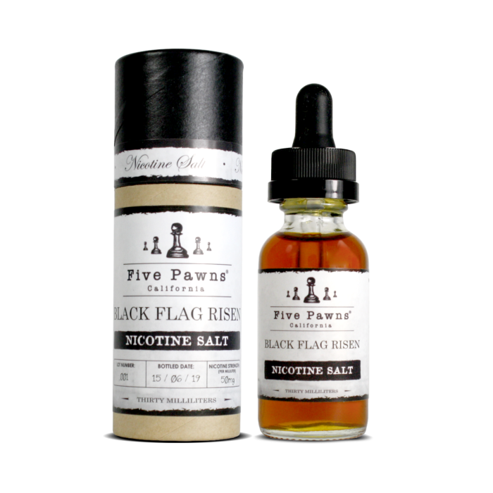 Líquido Black Flag Risen - SaltNic / Salt Nicotine - Five Pawns ®