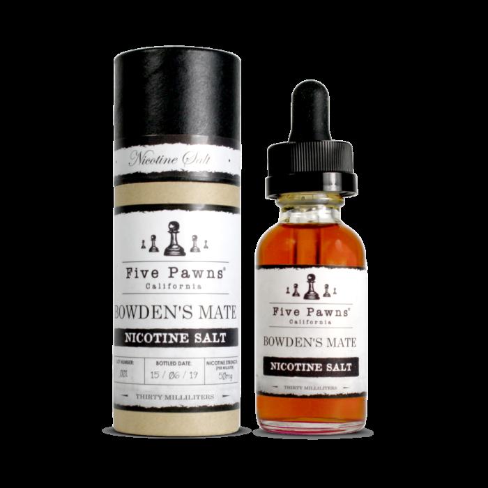 Líquido Bowdens Mate - SaltNic / Salt Nicotine - Five Pawns ®