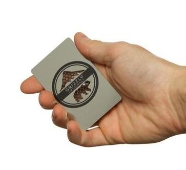 Dichavador De Ervas Card - Grizzly