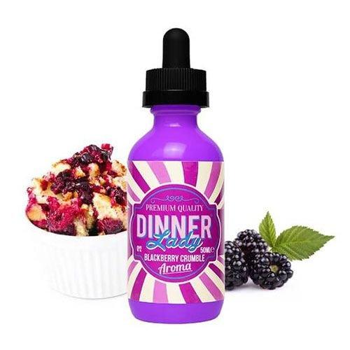 Líquido Blackberry Crumble - Dessert - Dinner Lady - SaltNic