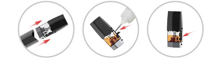 Kit Cigarro Eletrônico Infinix 250mAh - Smok juice