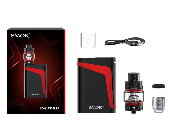 Kit V-FIN 160W TC c/ Atomizador TFV12 Big Baby Prince - Smok™