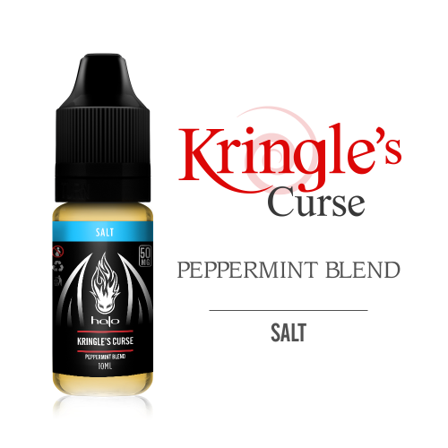 Líquido Kringle's Curse - Sub Ohm Salt Nic - HALO Purity