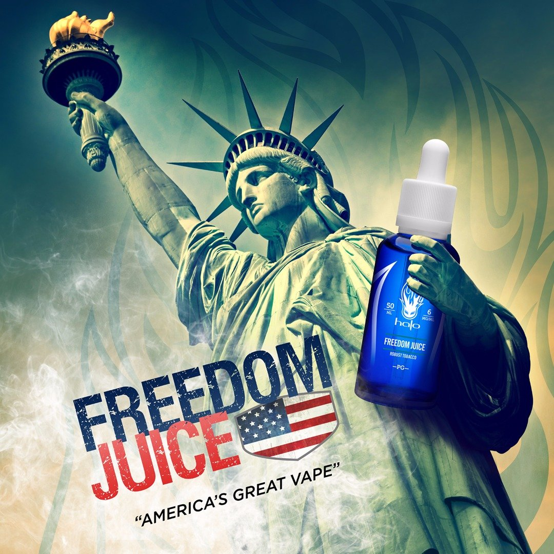 Líquido Freedom Juice- HALO Purity