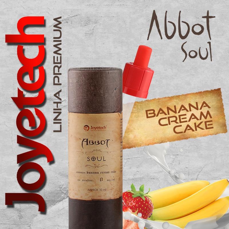 Líquido Joyetech® Banana Cream Cake Abbot Soul