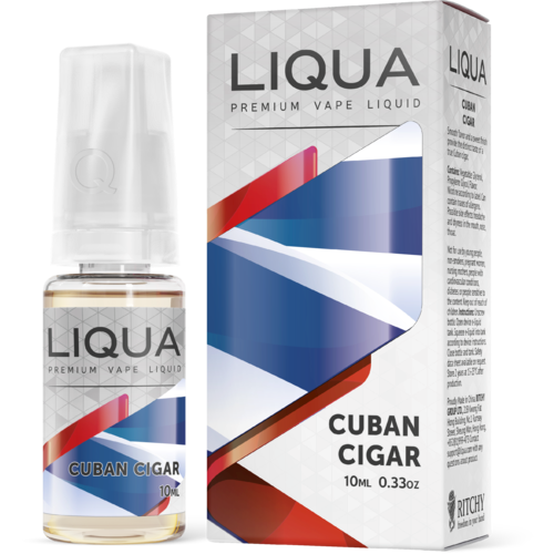 Líquido LIQUA Elements - Cuban Cigar - Ritchy
