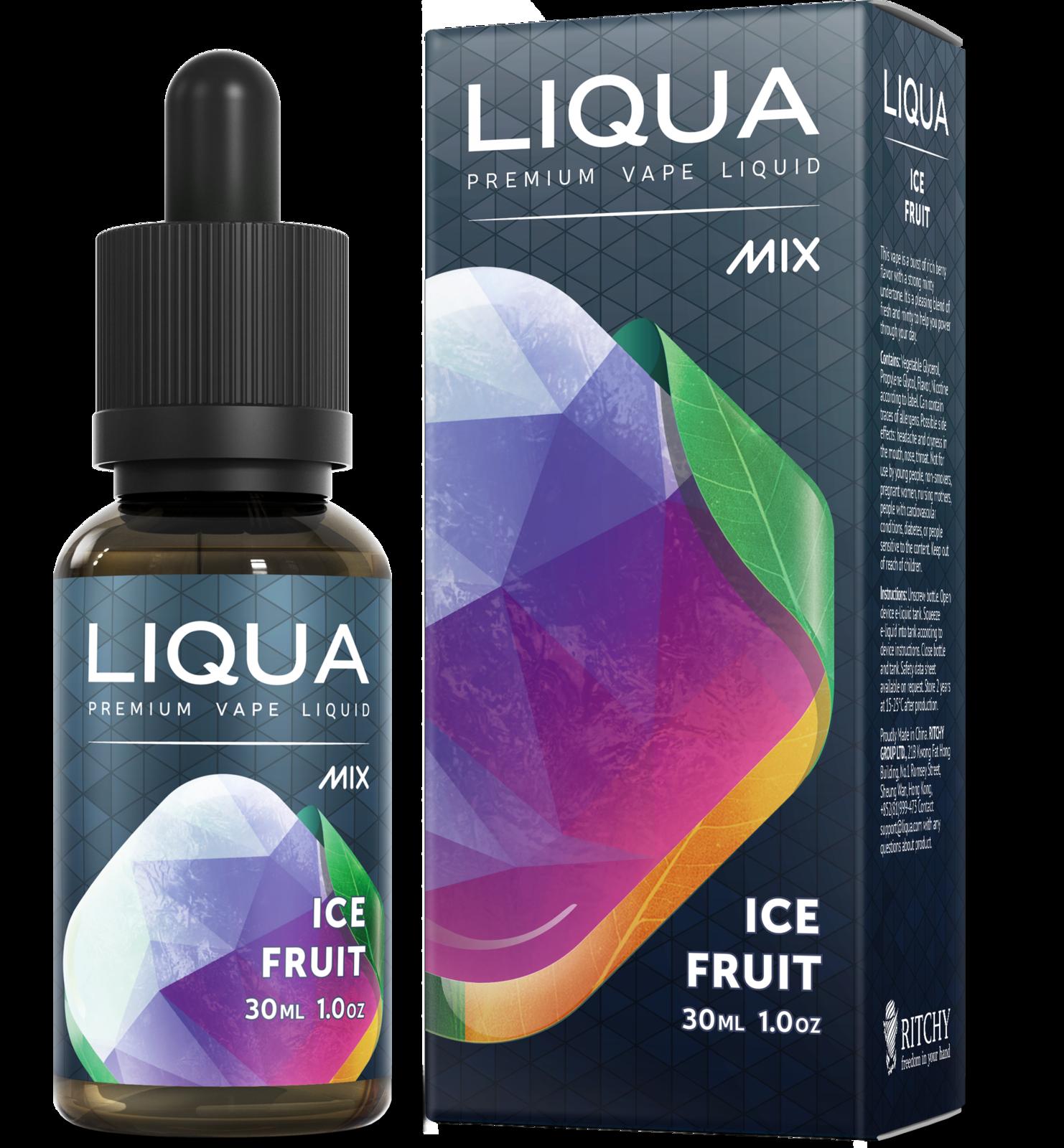 Líquido LIQUA - Ice fruit - Ritchy