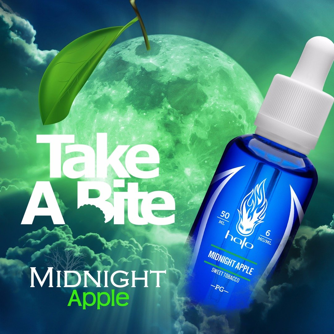 Líquido Midnigth Apple - HALO Purity