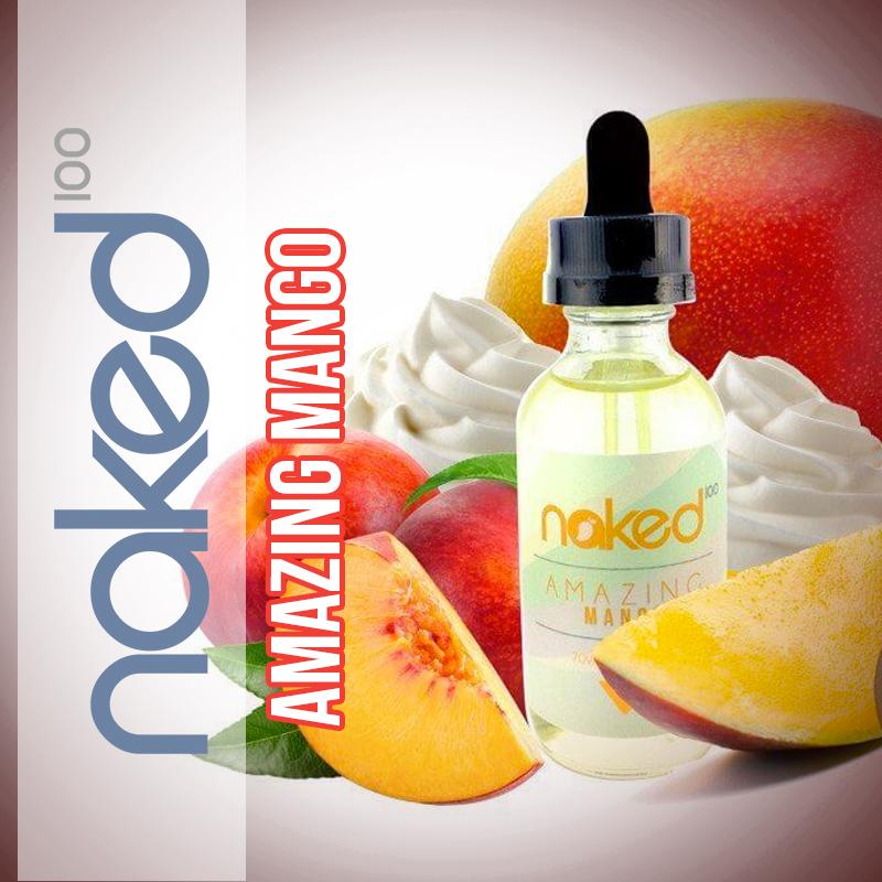 Líquido Amazing Mango - Naked 100