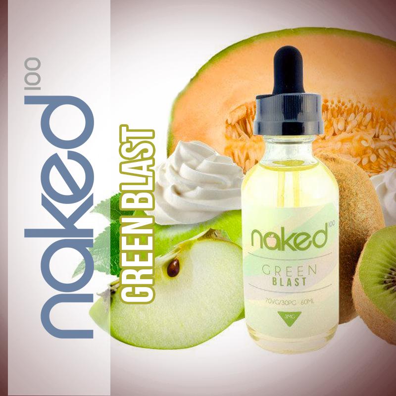 Líquido Green Blast - Naked 100