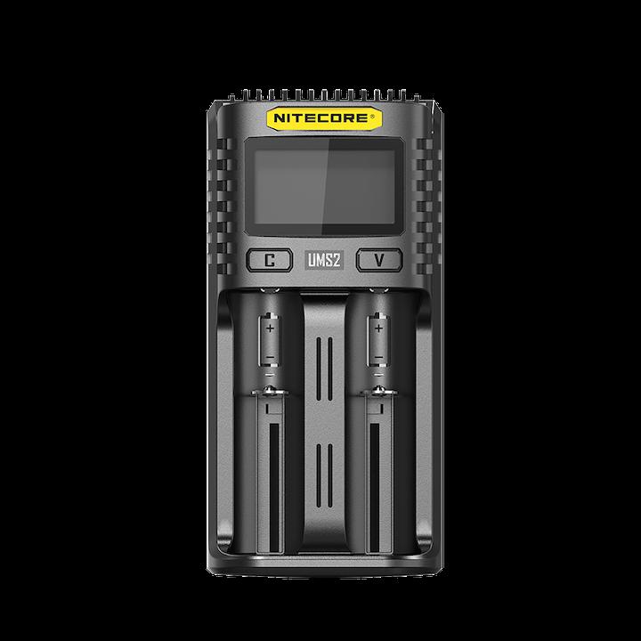 Carregador Inteligente de Baterias UMS2 Nitecore®