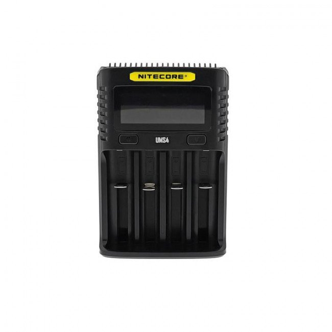 Carregador Inteligente de Baterias UMS4 Nitecore®