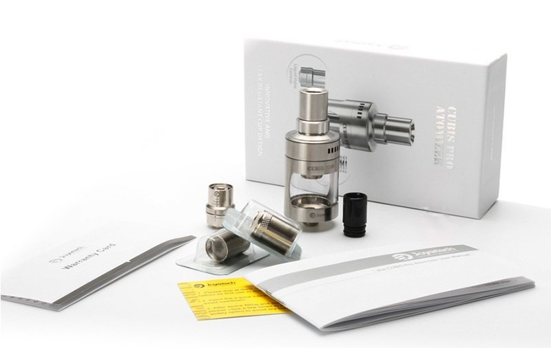 Atomizador Cubis Pro 4.0 mL Sub Ohm - Joyetech®