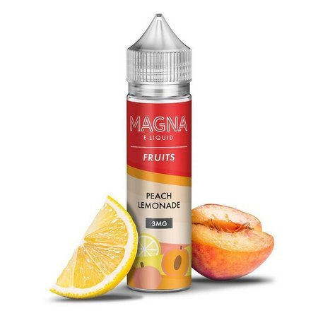 Líquido Lemonade Peach  - Fruits - Magna