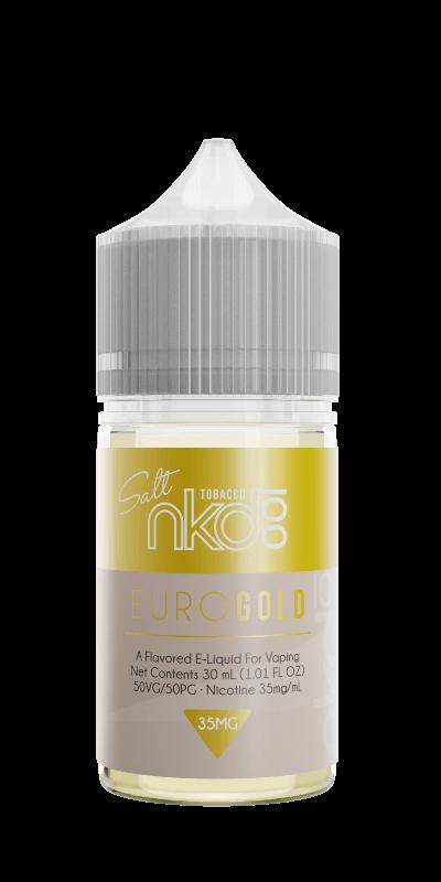 Líquidos Euro Gold - SaltNic / Salt Nicotine - Naked Salt 100