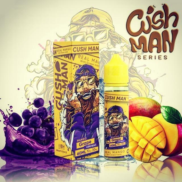 Líquido Mango Grape - Cush Man Series - Nasty Juice