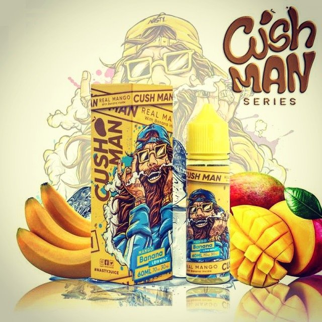 Líquido Mango Banana - Cush Man Series - Nasty Juice