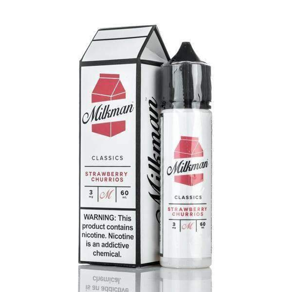 Liquido Strawberry Churrios - The MilkMan eLiquid
