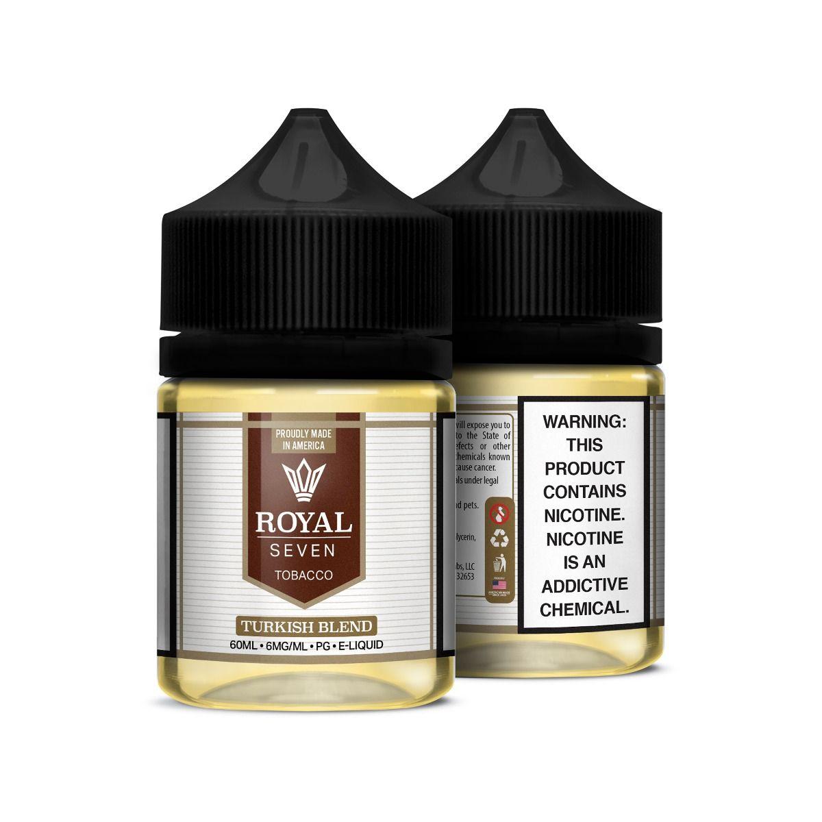 Líquido Turkish Blend - Tobacco - Royal Seven