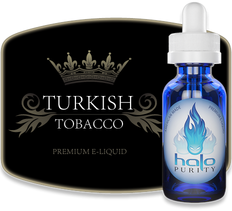 Líquido Turkish Tobacco HALO Purity