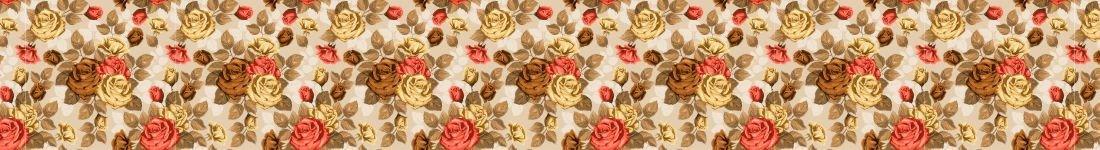 Papel de Parede Flora Com Tom Marrom