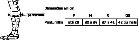 Polaina Canelito de Compressão Corrida X-Fit Woom - OFF ESPORTES ... bc1ffe2c9c78d