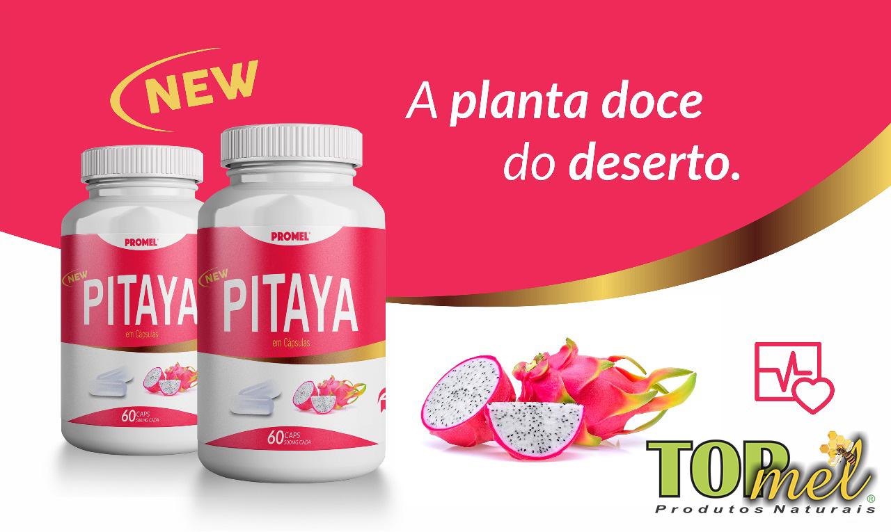 Comprar Pitaya em cápsulas no atacado