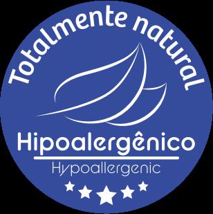 Totalmente natural - Hipoalergênico