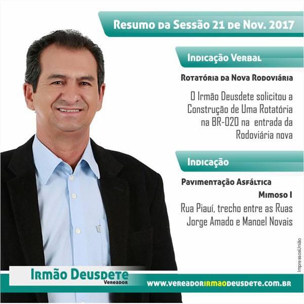 Vereador Deusdete - LEM-BAHIA