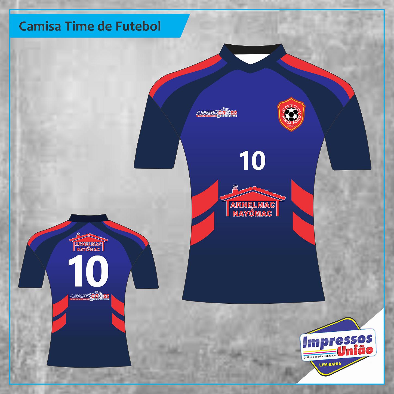 Camisa de Futebol - Morpará-BA