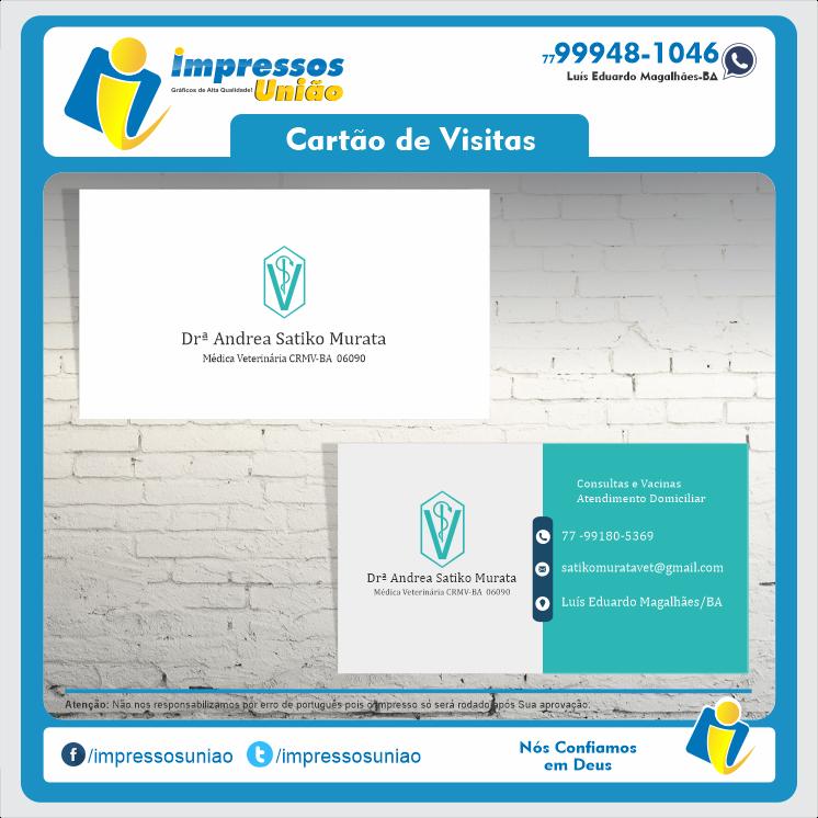 Cliente Drª Andrea Veterinária