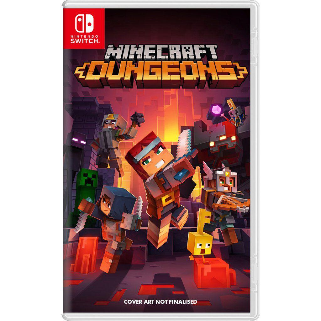 Minecraft Dungeons Nintendo Switch Digital - XBLADERGAMES