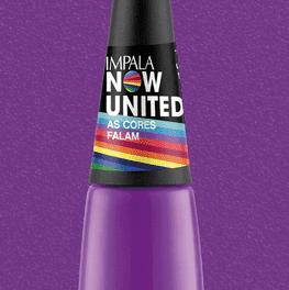 Esmalte Impala Now United as Cores Falan
