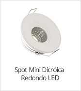 categoria mini spot led redondo