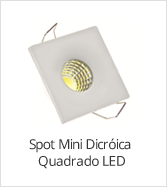 categoria mini spot led quadrado