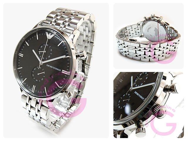 cdbdfac2846 Relógio Masculino Empório Armani AR0389 Prata - Mimports - Produtos ...
